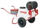 A 130 battery wheelbarrow sprayer